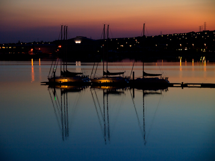 Yet Another Port Solent Sunset