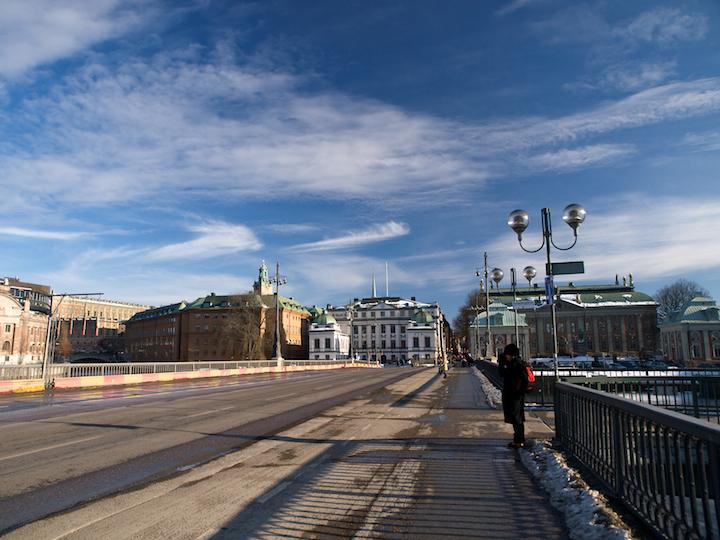 Strömsborg Bridge