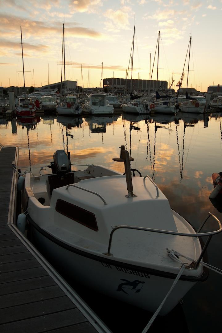 Cherbourg Sunset