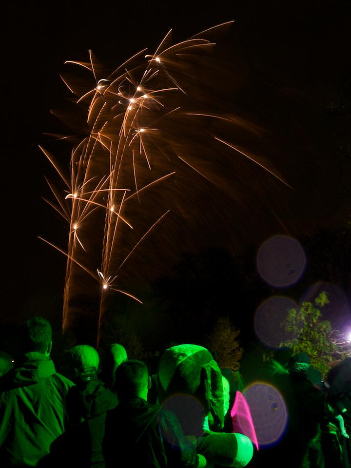 Fireworks in West London