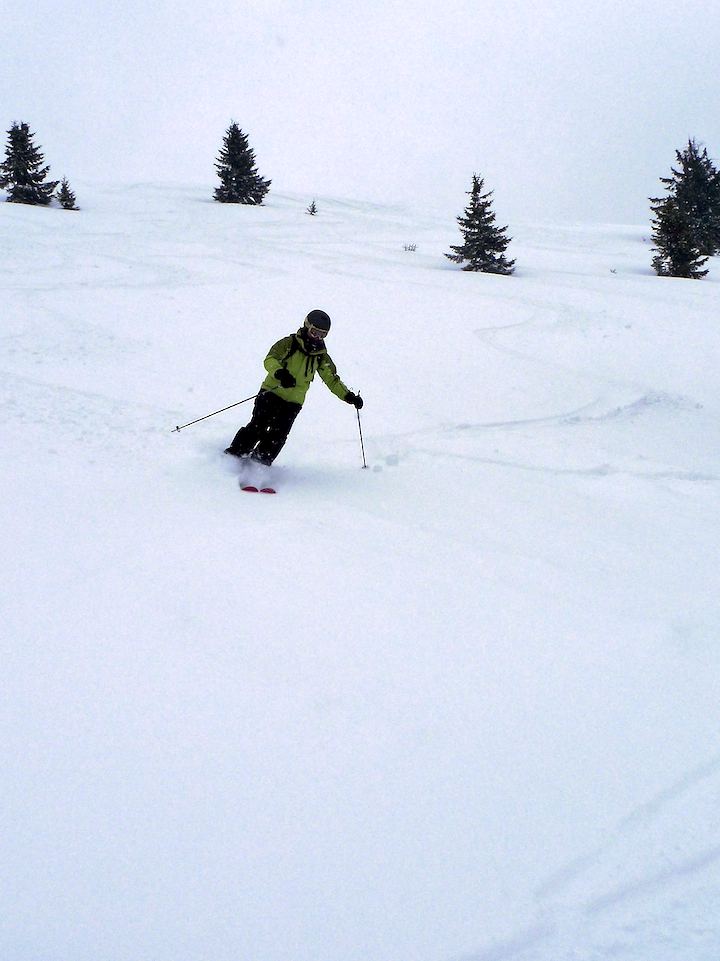 In The Powder