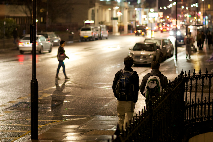 Gloucester Road at Night