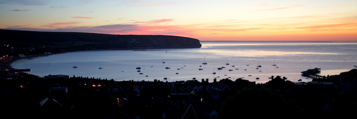 Swanage Bay Sunrise
