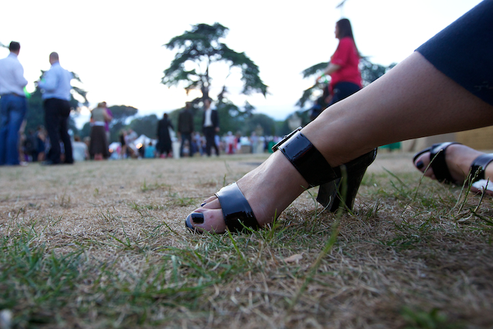 Foot In The Grass